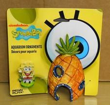 2011 Spongebob Squarepants- Pineapple Aquarium Ornament - $7.91