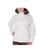 Foursquare Dahlia Jacket Womens Snowboard Ski 10k Waterproof Insulated S M - $117.06