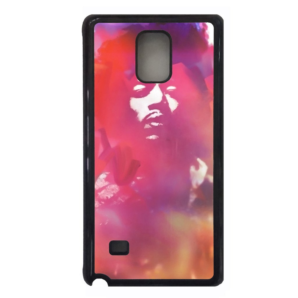 Jimi Hendrix Samsung Galaxy NOTE 4 case Customized soft rubber phone case, desig