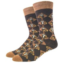 Squirrel Nut Socks Fun Novelty One Size Fits Most Dress Casual Big Foot ... - $12.49