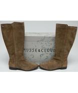 Musse & Cloud Griba Sz EU 40 (US 9-9.5 M) Femmes Daim Ouest Haut Bottes ... - $67.41