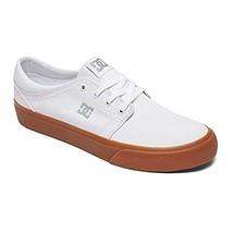 DC Women's Trase TX Skate Shoe, White/Gum, 7.5 D D US - $49.58