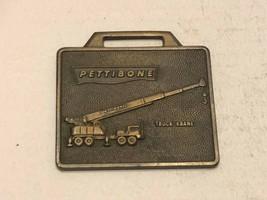Vintage Watch Fob - Pettibone Truck Krane - $30.00