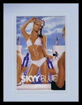 2003 Skyy Vodka Bikini Girl The Arrival Framed 11x14 ORIGINAL Advertisement - $32.36