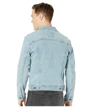 Levi's Men's Classic Button Up Denim Jeans Trucker Jacket Blue Stretch 723340323 image 2