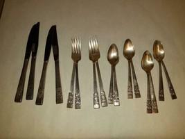 Vintage Silver Plated Community Coronation Lot of 16 Pcs. Flatware - $49.49