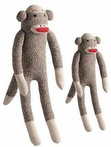 Multipet Sock Small Monkey Toy - £5.03 GBP