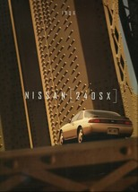 1996 Nissan 240SX sales brochure catalog US 96 LE SE Silvia - $9.00