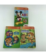 Leap Frog LeapReader Junior Board Books Set Of 3 Numbers Letters & Animals  -OE - £8.13 GBP