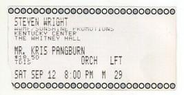 Rare STEVEN WRIGHT 9/12/92 Louisville KY Whitney Hall Ticket Stub! - $1.99