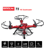 GOOLRC  T5 Drone 2.4GHz 4CH 6-axis Gyro RC Quadcopter - $39.98