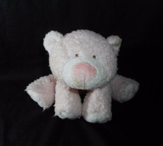 Ty Pluffies 2005 Cubby Cuddles Love To Baby Teddy Bear Pink Stuffed Animal Plush - $28.05