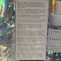 NIB *VEGAN*  SOLD Out* Herbivore Bakuchiol 1oz 30mL GOODBYE Irritating Retinol! image 2