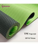 6MM TPE Non-slip Yoga Mats For Fitness Tasteless Brand Pilates Mat 8Colo... - $33.20+