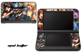 Skin Decal Wrap for Nintendo 3DS XL Gaming Handheld Sticker 12-15 MAD HATTER - $13.81