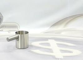 Keurig K Cafe K84 Milk Frother Cup Nickel Stainless Steel Replacement - $12.86