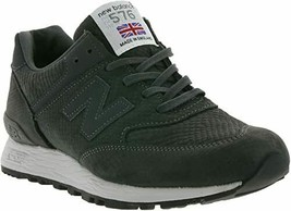 New Balance Made In UK Animal Black Leather Womens Running Fashion Shoes... - $134.99