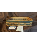 Longaberger 1996 COLLECTORS CLUB Small SERVING TRAY #12629 Plastic Prote... - $39.95