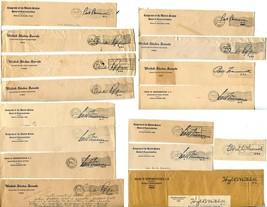 USA Senate House of Representatives Free Postage Cover Envelope Cuts Washington image 1