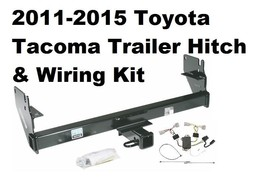 Trailer Hitch W/ Wiring Kit Fits 2011-2015 Toyota Tacoma No Drill - $185.02