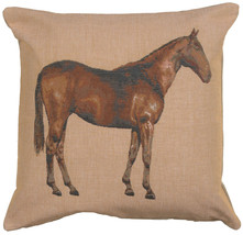 Horse Light 1 French Couch Cushion - $63.00