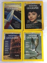 National Geographic Magazines May 1970 June 1970 April 1974 August 1977 - $24.50