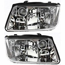 Fits 99-02 VW Jetta (to VIN 108641) Left & Right Headlamp Assys w/out Fo... - $103.90