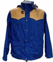 Penfield Hudson HPC1000 Multi Color Leather Trim Coat M Colorblock - $45.99