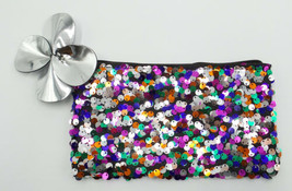 Genuine MAC Shiny Pretty Things Sequin MakeUp Bag  - $9.98