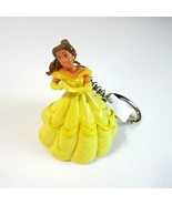 2002 Disney Princess BELLE from Beauty and Beast Keychain by Basic Fun Inc. - $9.50