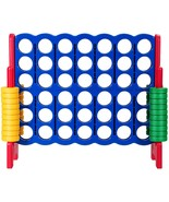 Jumbo 4-to-Score Giant Game Set with Storage Carrying Bag-Red - Color: Red - £174.05 GBP