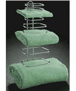 THREE GUEST TOWEL RACK FOR HOTELS OR QUEST BATH ROOMS - $54.97