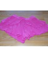 Girls Size 10 Gymboree Solid Pink Ruffle Flowy Summer Shorts EUC - $14.00