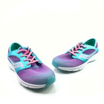 Saucony Kineta Relay Little Girls Size 5M Turquoise Purple Pink Sneakers... - $24.71