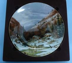 QUEBEC WINTER by Cornelius Krieghoff - Ltd. Edn. Collector Plate - $44.54