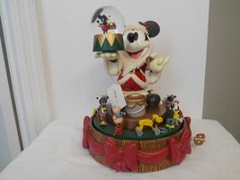 Disney Mickey Mouse Santa Workshop Snowglobe  - $245.00