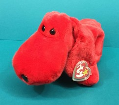 "Ty Beanie Buddies Rover Red Puppy Dog 12"" Plush Stuffed Animal NWT Tag 1998 - $10.95"