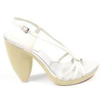 White 7.5 US - 38 EUR Nine West Womens Slingback Sandal NWQUIZOUP WHITE ... - $67.93