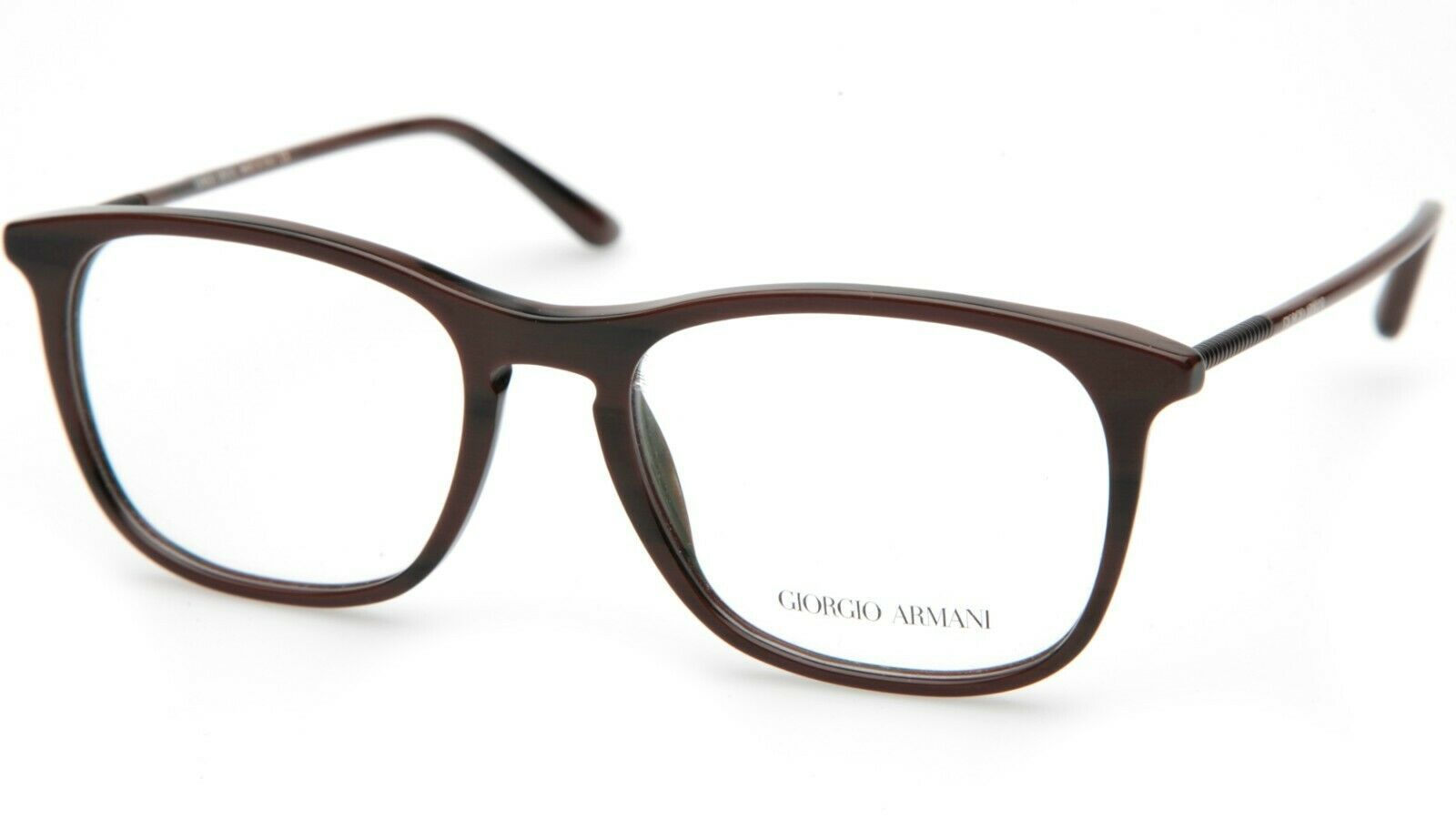Primary image for New GIORGIO ARMANI AR7103 5498 Brown EYEGLASSES FRAME 53-18-145mm B42mm Italy