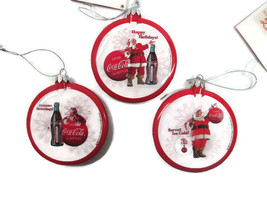 Coca-Cola  Santa Christmas Ornament with Thermometer picture- BRAND NEW - $11.88