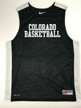 Nike Colorado Buffaloes League Reversible Practice Tank Men's L Black 62... - $34.64
