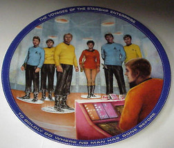 "Star Trek - Beam Us Down Scotty 8 1/2"" Collector Plate M-822 - $19.99"