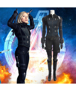 Black Widow Complete Costume Full Set Cosplay 2018 Avengers 3 Infinity War - $212.79