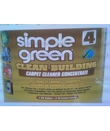 New !! Simple Green Clean Building Carpet Cleaner Concentrate  2 Bottles... - $63.25