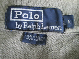 Guy's green short sleeve polo shirt Size L by Ralph Lauren  MGRA048 - $16.87
