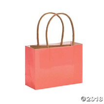 Small Coral Craft Bags - $5.74