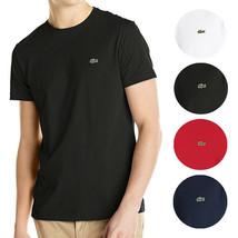 Lacoste Men's Classic Premium Pima Cotton Crew Neck Sport Shirt T-Shirt