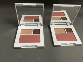 2 x Clinique Jonathan Adler Makeup Eye All About Shadow Duo Palette & Bl... - $7.66