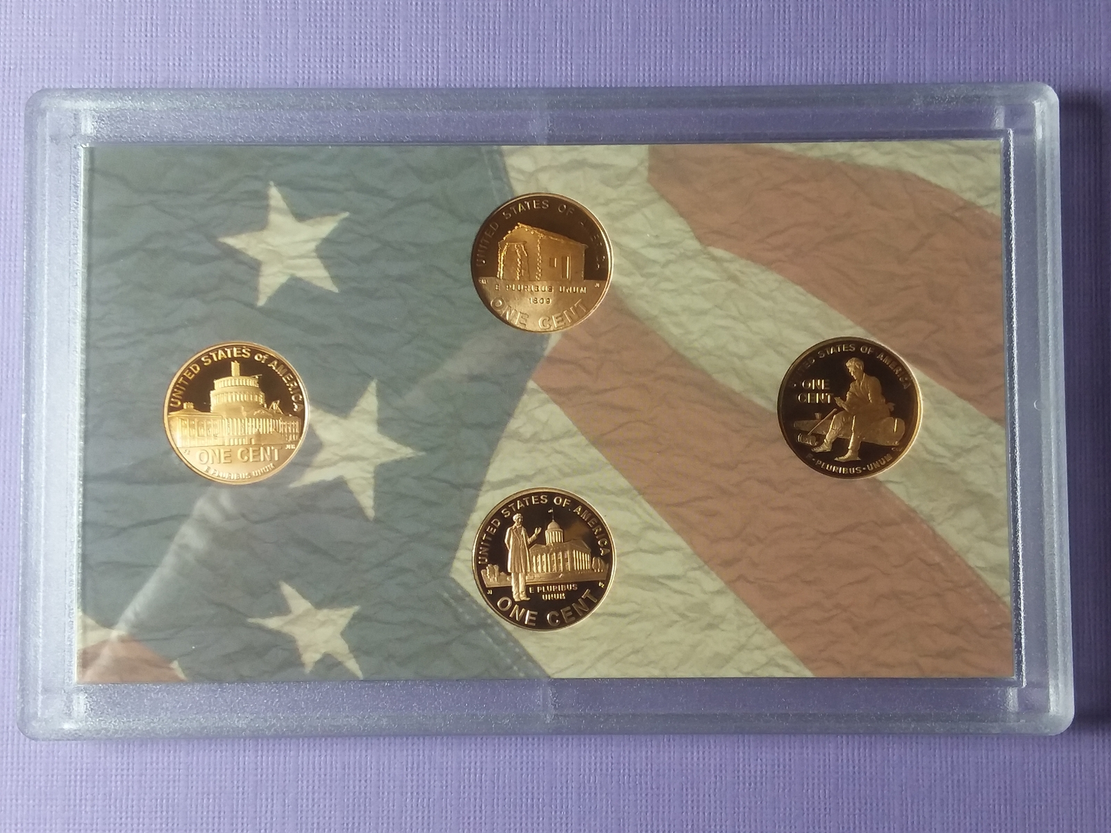 Lincoln Bicentennial Series 2009-S Proof 4 Coin Set