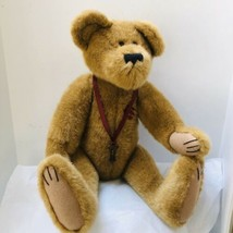 "Boyds Love Bear 22"" Key To Your Heart Plush The Archive Series 1999 Retired - $27.72"